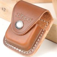 美国芝宝Zippo打火机 原装配件 皮扣皮套-棕色打火机皮套