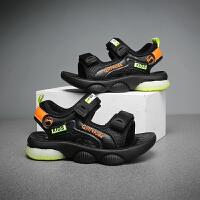 【一件二折;69】贵人鸟儿童凉鞋男童鞋子2021夏季新款中大童男孩软底防滑沙滩鞋潮