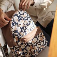 百搭双肩包 韩国款学生旅行休闲大容量书包女士防水旅游背包 中号
