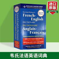 韦氏法语英语词典 英文原版字典 Merriam Webster's French English Dictionary