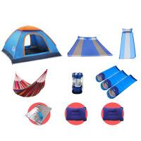 户外全自动速开露营野营3-4人帐篷野外家庭二室一厅防水防蚊虫帐篷全套餐