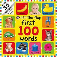 Lift-The-Flap: First 100 Words启蒙100词翻翻书