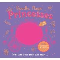 英文原版 Doodle Magic Princess 涂鸦的魔法公主 进口书 正版