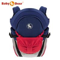 BabyDeer 新生儿婴儿背带 横抱式抱袋多功能前抱宝宝抱带夏季背巾a358