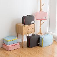 旅行收纳袋行李箱整理包洗漱包内衣整理袋手提旅游衣物收纳包
