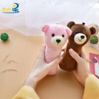 创意USB玩偶暖手宝 小熊暖宝宝卡通发热移动电源迷你充电电暖宝圣诞节礼物生日礼物