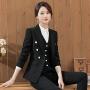 【极速发货  超低价格】职业装套装女2020新款时尚春秋西服气质西装面试大学生正装工作服