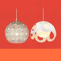 led餐厅灯浪漫现代简约时尚单头吸顶餐吊灯创意吧台CD n7a