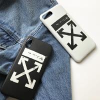 简约XR苹果7手机壳iphoneX XS Max情侣8plus软壳6s 6/6s 黑