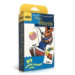 【发顺丰】英文原版 First Words 54张单词字卡盒装 Golden Books 兰登出品 0-3-6岁幼儿启