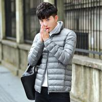 17青少年男初中学生13-14-15-16-18岁男孩秋冬外套轻薄款羽绒服潮