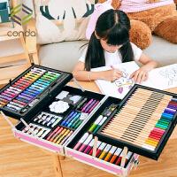 水彩笔安全无毒可水洗儿童绘画套装幼儿园小学生幼儿园画笔幼儿园画笔美术蜡笔彩色笔36色颜色笔彩笔软头水彩笔画画工具