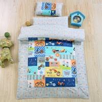 纯棉儿童棉花幼儿园被子三件套宝宝午睡冬被六件套含芯春秋被加厚