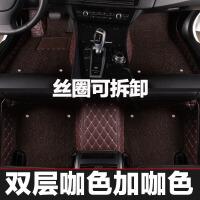 20181010212929934奥迪2018款A4L A6L A3 Q3 Q5 Q7 A8a5全包围丝圈汽车脚垫地毯