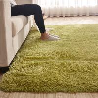 北欧丝毛客厅沙发茶几地毯卧室可爱房间床边毯满铺榻榻米定制地垫