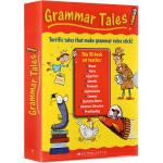 #Scholastic Grammar Tales 10册 学乐语法学习绘本故事书家庭教材盒装 此为定制版 不含家长手