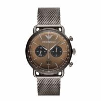阿玛尼 (Emporio Armani)手表 男士休闲时尚石英腕表 AR11141