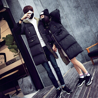 情侣棉衣中长款冬季新款韩版学生面包服女棉袄加厚外套男