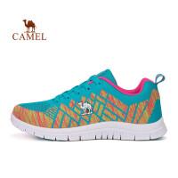 【每满100减50】骆驼牌 运动女款舒适跑鞋 女士时尚减震透气轻便跑步鞋