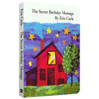 英文原版绘本 The Secret Birthday Message 神秘的生日信息 Eric Carle艾瑞卡尔爷爷