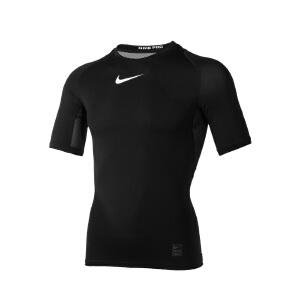 Nike耐克 2017新款男子PRO运动训练紧身短袖T恤 703095-010/703095-091