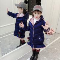 女童棉衣外套冬装2018新款洋气小女孩冬季女宝宝加厚儿童棉袄