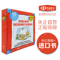 现货英文原版 DECODABLE READERS BOX SET LEVEL D 自然拼读读物套装:D级 儿童英文读物