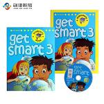 英国MM get smart 3级别原版进口英语教材6-12岁小学阶段少儿英语教材美式发音美语课程培训机构专用学生书+
