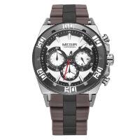 2018新款 美格尔男士手表 多功能三眼夜光防水运动男日历石英手表3009