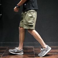 夏季休闲短裤男士加肥加大码韩版宽松五分裤潮流学生工装裤男裤子