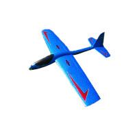 航梦手抛飞机滑翔机超大航模固定翼DIY遥控无人机玩具EPP泡沫模型 航梦80M(送DIY贴纸胶水)