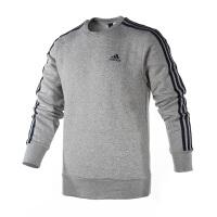 Adidas阿迪达斯 男装 2017新款运动休闲套头衫针织连帽卫衣 BQ9642