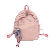双肩包女2018新款韩版百搭校园学生小书包简约背包