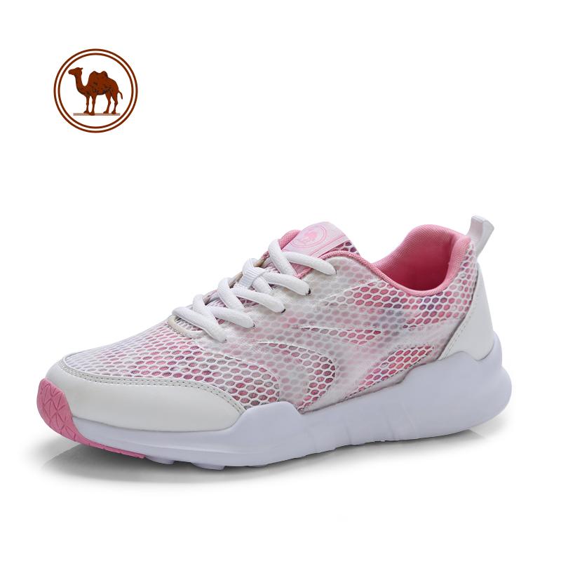 骆驼牌女鞋 2018春季新款韩版户外运动鞋女 时尚平底休闲鞋女