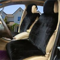 羊绒冬汽车坐垫羊毛毯垫车垫短毛绒汽车座套套CRV奥迪Q5a6l途观