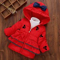 童装冬装2018新款韩版儿童棉袄女童加厚外套宝宝冬季棉衣保暖