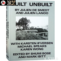 BUILT UNBUILT 英文版 已建未建 比利时JDS事务所作品集建筑设计书籍