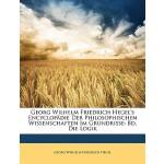 【预订】Georg Wilhelm Friedrich Hegel's Encyclopadie Der Philos
