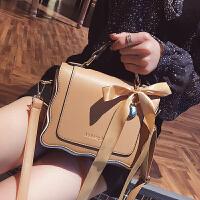 手提包包女2018春新款斜挎百搭女包时尚甜美小包单肩小方包潮
