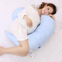 靠枕睡枕哺乳枕托腹U型枕 孕妇枕头护腰侧睡枕抱枕