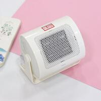 迷你暖风机小型办公室暖脚神器家用电取暖器桌面学生宿舍节能省电