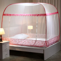 蚊帐家用蒙古包学生宿舍免安装1.5m床公主风1.8米1.2单人床