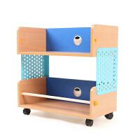 2平米 魔法移动柜 儿童小书柜带轮可移动 学生书柜子 儿童储物柜 简易书架 收纳柜