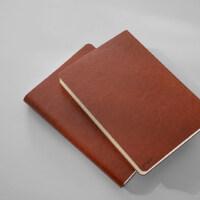 锦一 简约A5商务复古记事本日记本 厚创意本子笔记本文具