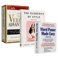 单词的力量 英文原版 Word Power Made Easy 言语优势 Verbal Advantage 风格的要素