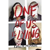 英文原版One of Us Is Lying 我们中有一个在撒谎 畅销书 Karen M. McManus 青少年 神秘