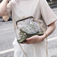 2018新款女包包斜挎包时尚单肩包韩版子母包夏季糖果色小包包