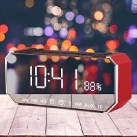 【支持礼品卡支付】无线蓝牙音箱创意创意闹钟静音小钢炮电子钟学生智能多功能时钟表