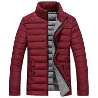 秋冬男装新款男士短款外套青年立领棉袄加厚韩版修身棉衣