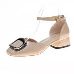 WARORWAR新品YN30-C-606夏季欧美低底鞋舒适方头女鞋潮流时尚潮鞋百搭潮牌凉鞋女
